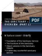 Sanctuary Bible Study Part 1 Overview