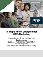 11 Tipps Für Ihr Erfolgreiches XING-Marketing