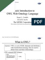 Costello Quick Intro Owl