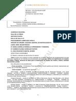 Sentencia de Alejandro Fernandez