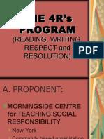 The 4R's Program