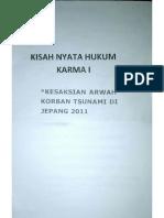 Kisah Nyata Hukum Karma Arwah Korban Tsunami Jepang 2011 26-Mei-2016 22-36-04