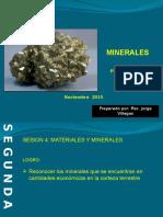 Minerales y Propiedades Fisicas Pptx