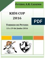 Kids Cup 2016 - Regulamento