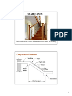 Concrete structures Lecture Notes Design Stair Cases
