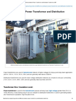 Difference Between Power Transformer and Distribution Transformer _ EEP