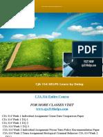 CJA 314 HELPS Learn by Doing/cja314helps.com