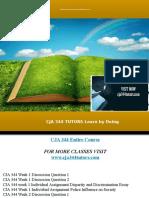 CJA 344 TUTORS Learn by Doing/cja344tutors.com