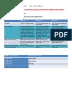 action plan yr 9 website