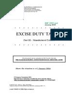 Excise Duties-part III Tobacco En