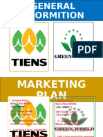 M Plan of Tiens vs Green World