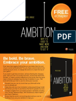 Ambition Sample Chapter