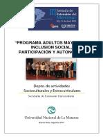 Inclusión Social Adultos Mayores