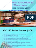 ACC 230 MART TEACHING EFFECTIVELY / acc230mart.com
