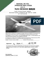 Manuel de Vol SR 20 G2