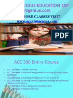 ACC 300 GENIUS TEACHING EFFECTIVELY / acc300genius.com