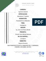 Mendez Espinosa Yolanda Yareni Actividad 1 Clasificacion de Los Materiales