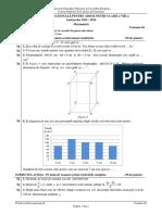 Evaluarea Nationala Matematica 2016 Var 04 LRO