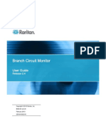 Raritan Branch Circuit Monitor User Manual