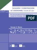 EDUCACIÓN Y CONSTRUCCIÓN DE CIUDADANÍA. ESTUDIO DE CASO