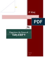 Tally.erp9 Hindi Notes