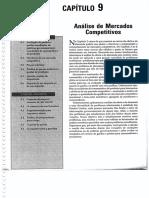 Microeconomia - Pindyck e Rubinfeld - 09 Análise de Mercados Competitivos