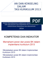 BK Dalam Implementasi Kurikulum 2013