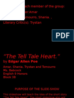 trystan shania amar tomourro - short story slide show  -the tell tale heart-