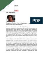 Entrevista a Margarida Cardoso