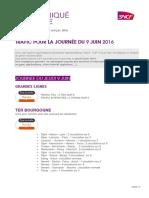 Info Trafic Du Jeudi 9 Juin
