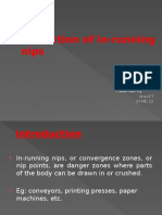 Protection of in-running Nips