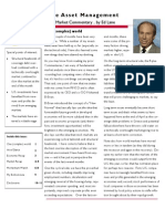 Lane Asset Management Stock Market Commentary May 2010
