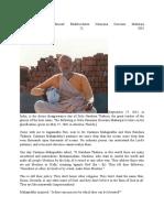 Tridandisvami Sri Srimad Bhaktivedanta Narayana Gosvami Maharaja
