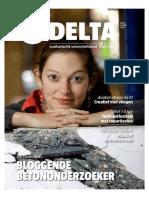 Bloggende betononderzoeker
