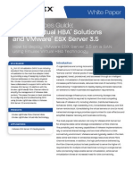 Emulex Virtual HBA and VMware ESX 3.5 NPIV