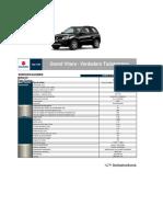 Ficha técnica y de equipamiento Suzuki Grand Vitara 3p