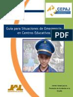 Guía Situaciones de Emergencia Centros Educativos