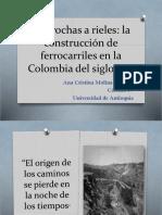 Unidad 5 de Trochas a Rieles - Ana Cristina Molina