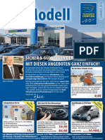 Autohaus Modell Sommer 2016