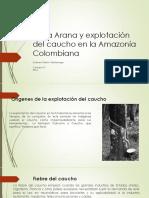 Unidad 7 Casa Arana y Explotación Del Caucho - Esteban Pabón Saldarriaga