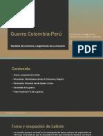Unidad 7 Guerra Colombia-Perú - Cristian Camilo Hidalgo