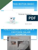 Presentasi Botox Basic Course-lanzox