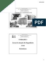 Aula 04 - Áreas de Atuação Do Engenheiro Civil - Engenharia de Estruturas.