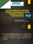 Induccion Reporte Tecnico Tsu 2016