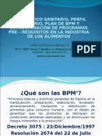 Spartan (1) Colombia Diagnóstico, Perfil y Plan de Bpm. Estructuración Programas Pre-requisitos . Bogotá Febrero 25 de 2016