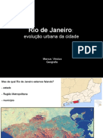 Rio de Janeiro - Evoluçao Urbana Da Cidade