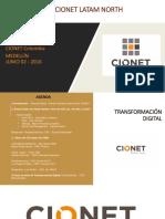 Agenda CIONET  Medellín