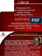 Diapositiva Exposicion de Linux