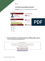Guía Para Las Evaluaciones Virtuales