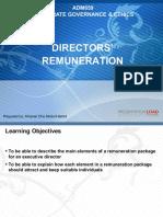 05 Directors Remuneration